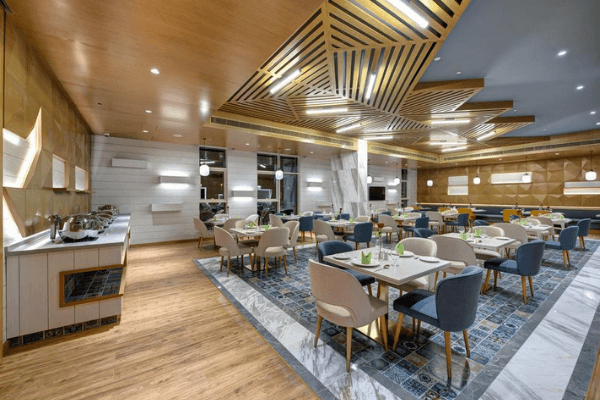 Dubai Football Tournament Hotel restaurant