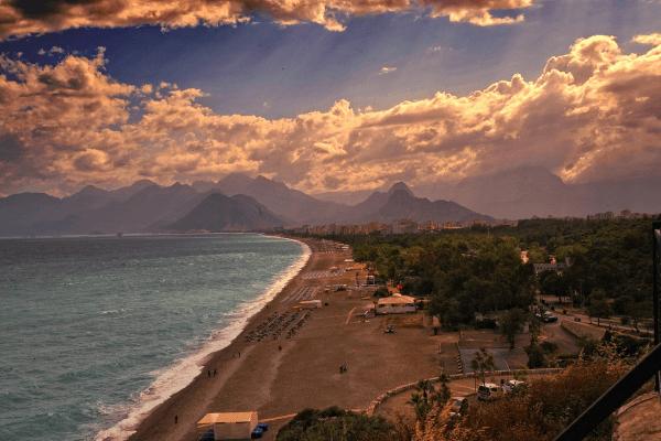 Turkey Football Tour Beach
