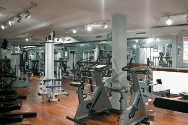 Manchester May Day Cup football tournament hotel gym