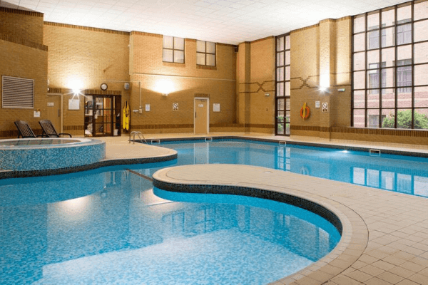 Football Tournament Hotel Pool