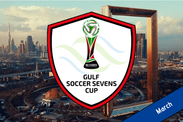 Gulf Soccer Sevens Cup Button